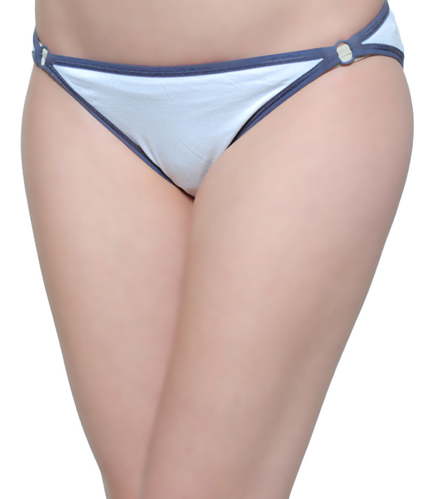 About U Grey & Sky Blue Panty Combo Pack Of 2