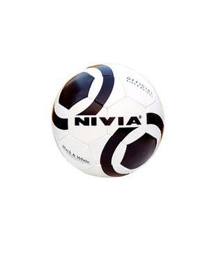 Nivia Football Black & White
