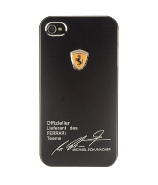 Basement Bazaar Ferrari Signature Cover iPhone 4 / 4S Black