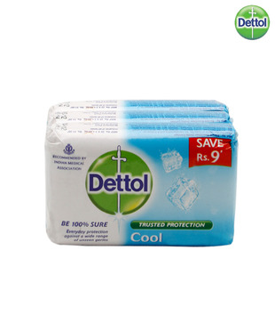 Dettol Soap Cool Set Of 3(3X70gm)_Discontinued