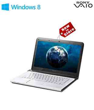 Sony Vaio E14123CN/W (Intel Core i3-3110M / 2GB DDR3 SDRAM / 500GB / 14 Inches / Windows 8 64 Bit / White)