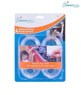 Dreambaby Stove Knob Covers 4 Pack