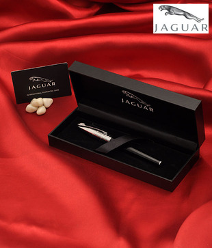 Jaguar Signature Ebony Fountain Pen