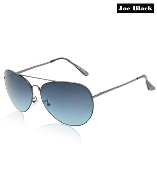 Joe Black Blue Aviator Sunglasses