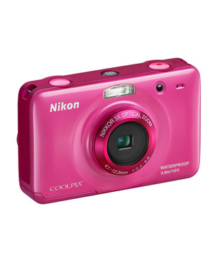 Nikon Coolpix S30 Point & Shoot Digital Camera (Pink)