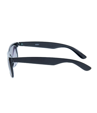 Chris Cross Black Wayfarer Sunglasses