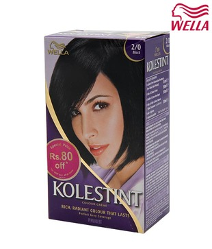Wella Kolestint Colour Creme Black 2/0