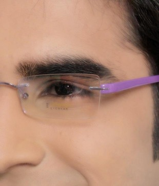 Ultra Light Purple Optical Frame