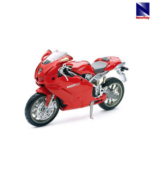 NewRay Red Ducati 999 Scale Model Bike
