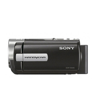 Sony DCR-SX45E Handycam (Black) (with 16GB SDHC Card, Carry Case, 3 Years Sony India Warranty)