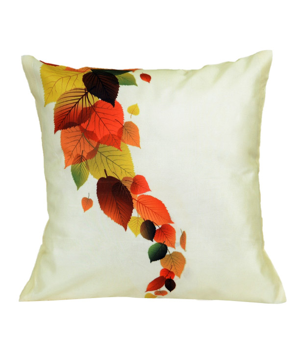 MeSleep Cream Digital Print Cushion Cover